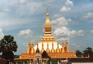 The magnificent Pha That Luang